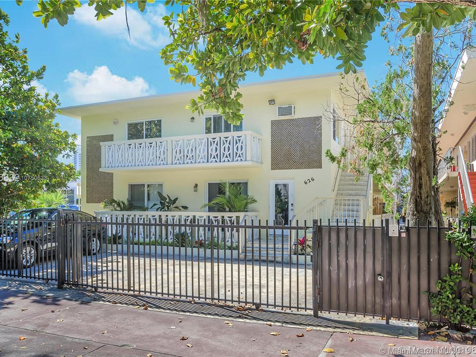 626  Meridian Ave #5 For Sale A10750623, FL