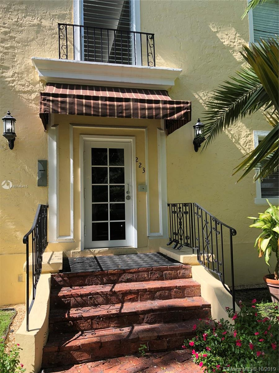 223  Calabria Ave #11 For Sale A10746415, FL