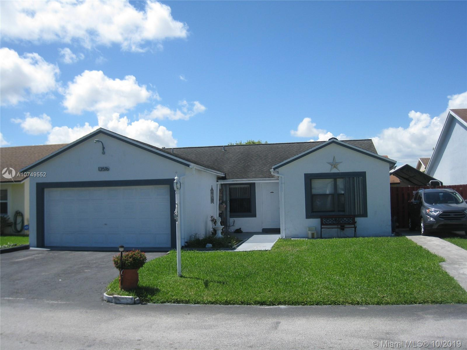 13516 SW 115th Ct  For Sale A10749552, FL
