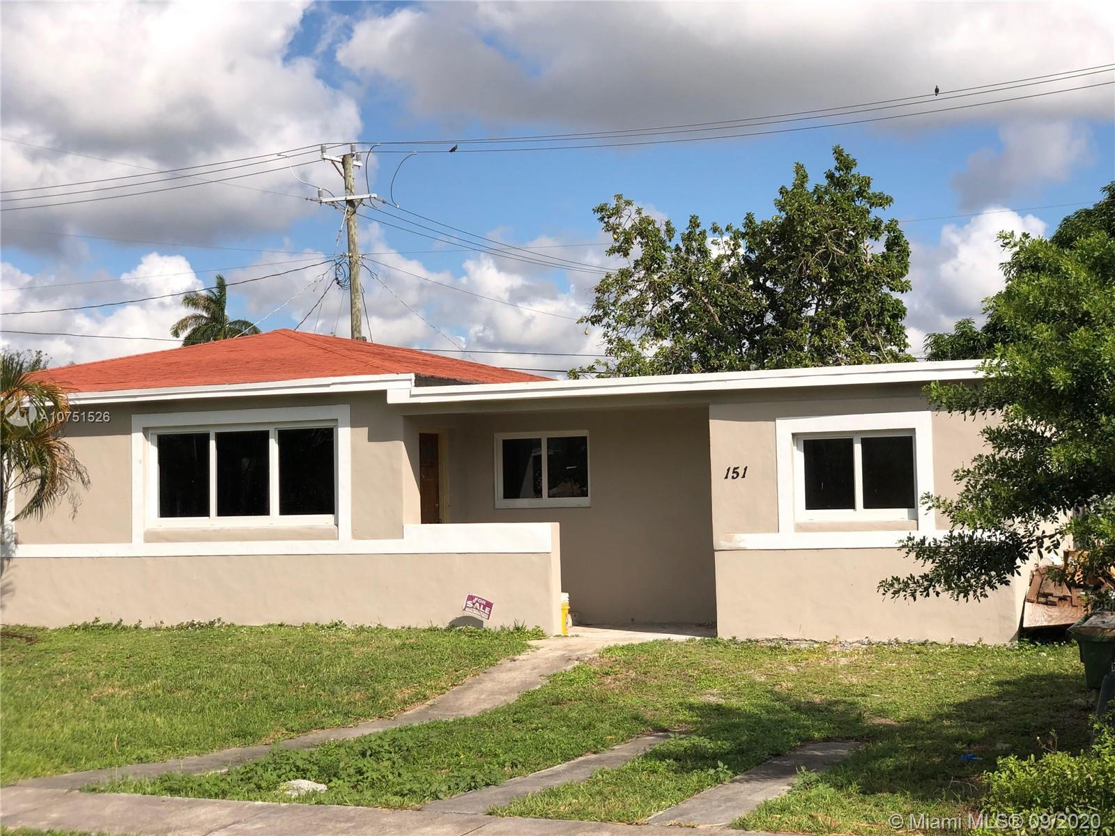 151 NE 122nd St  For Sale A10751526, FL