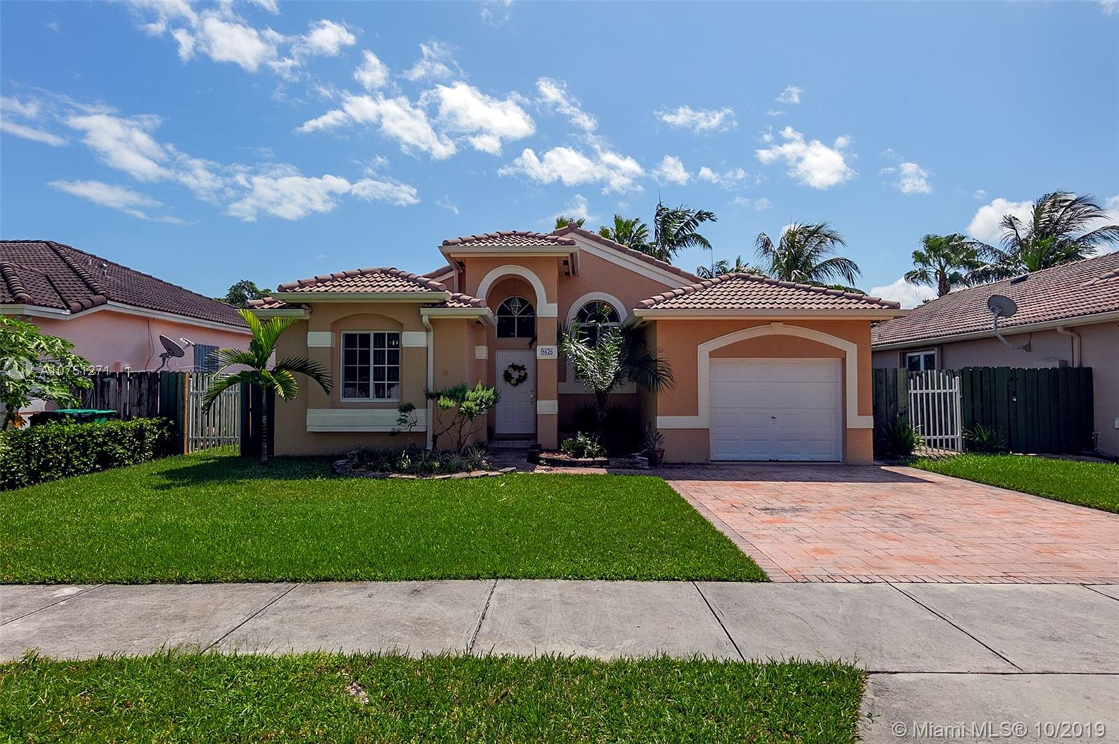 9426 SW 182nd Ter  For Sale A10751271, FL
