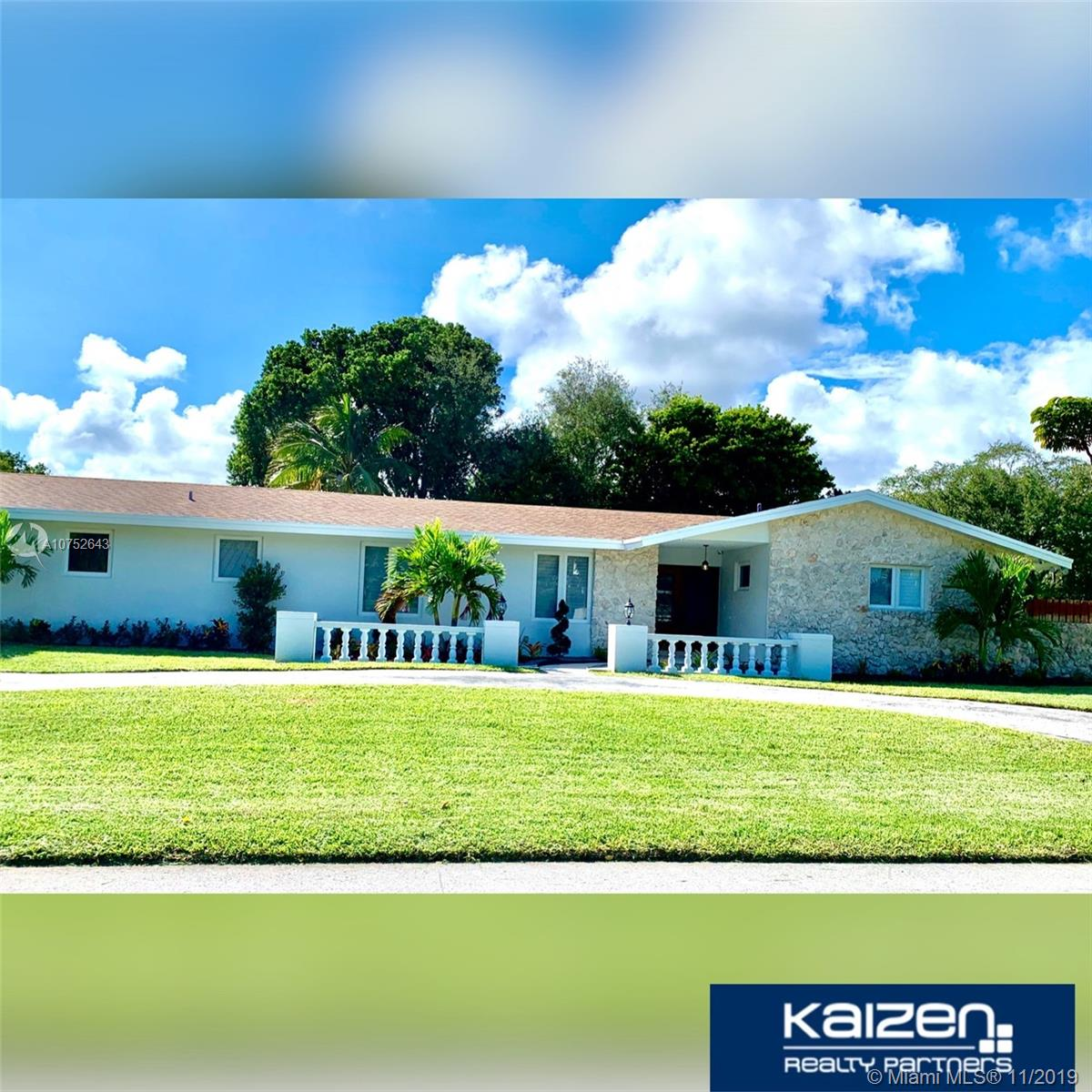 14700 SW 78th Ave  For Sale A10752643, FL
