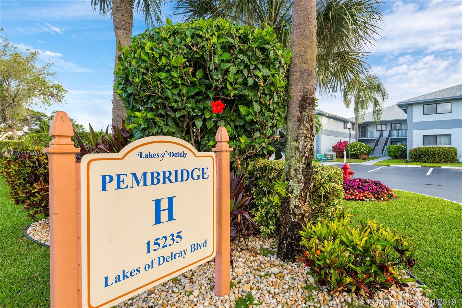 15235 LAKES OF DELRAY BLVD 283, Delray Beach, FL 33484