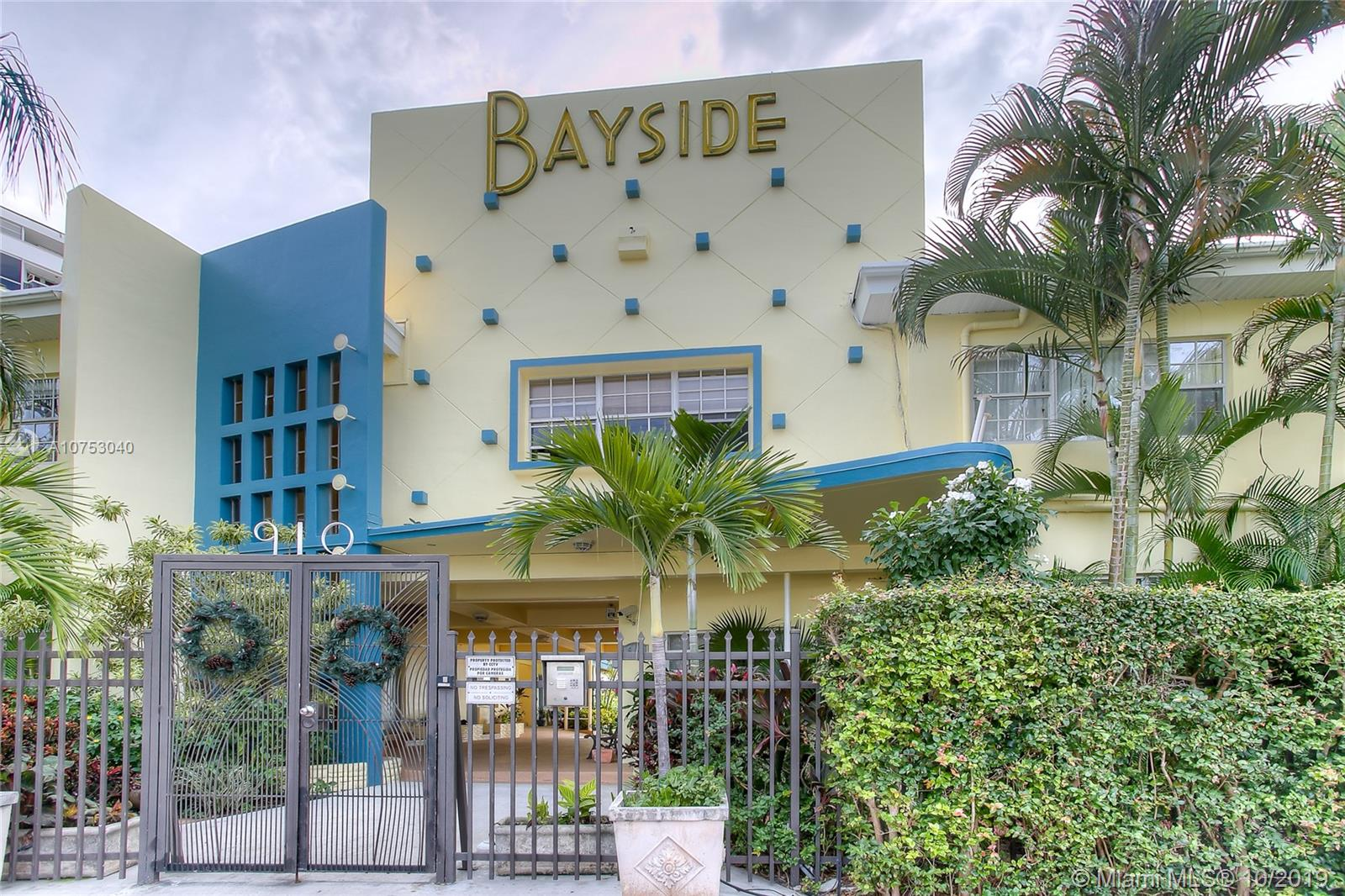 910  Bay Dr #23 For Sale A10753040, FL