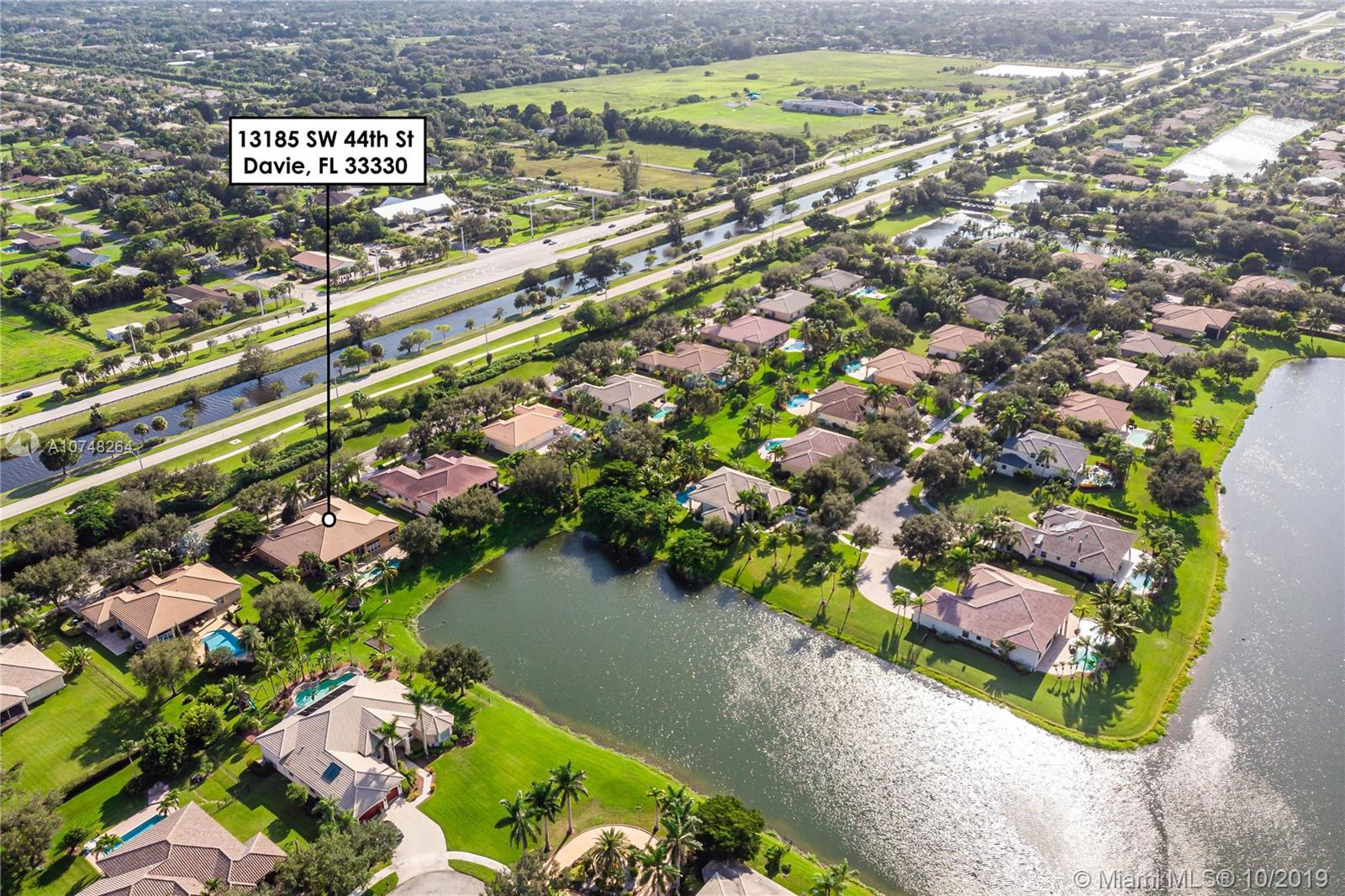 13185 SW 44th St  For Sale A10748264, FL