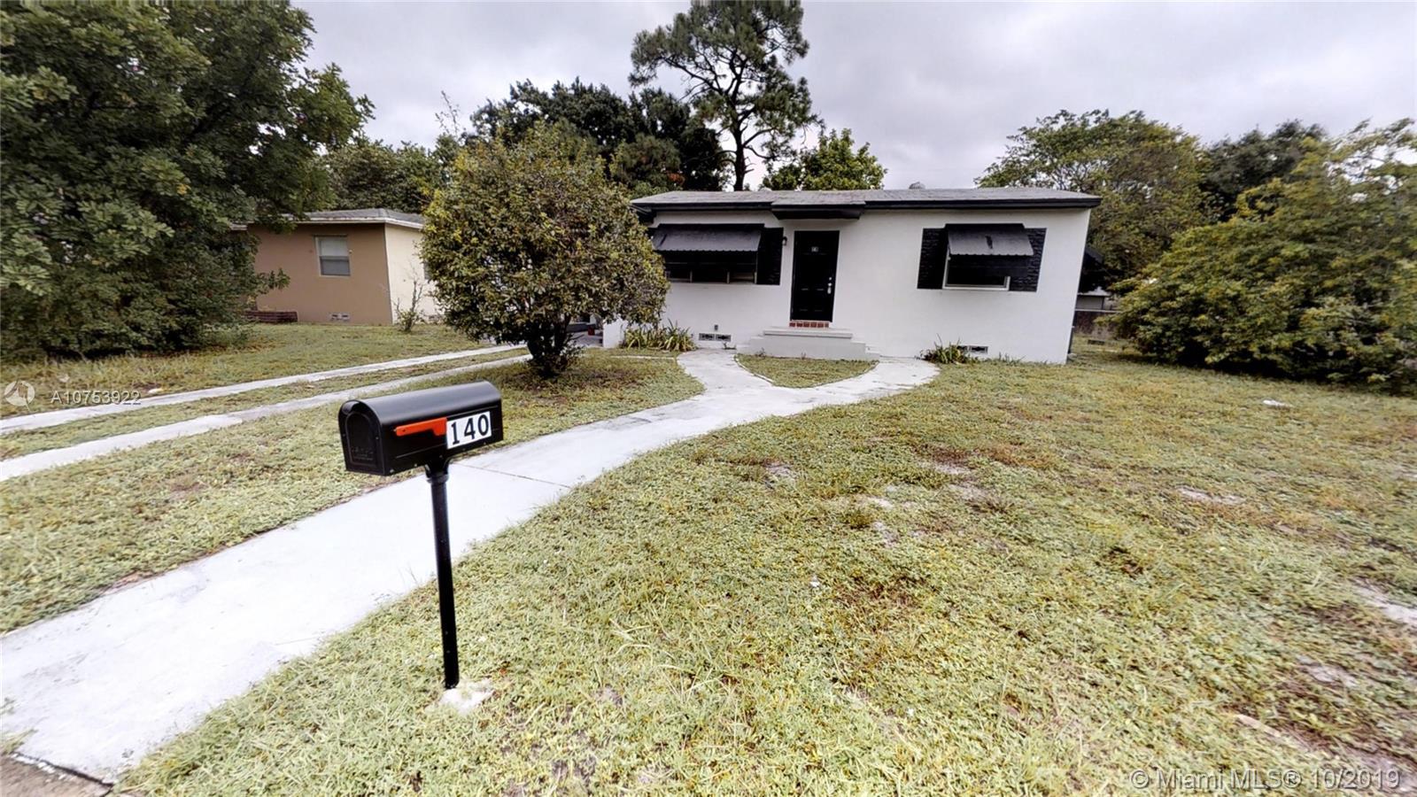 140  Carolina Ave  For Sale A10753922, FL