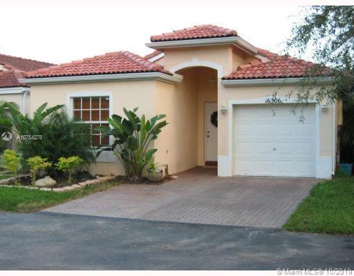 16306 SW 102nd St  For Sale A10754278, FL