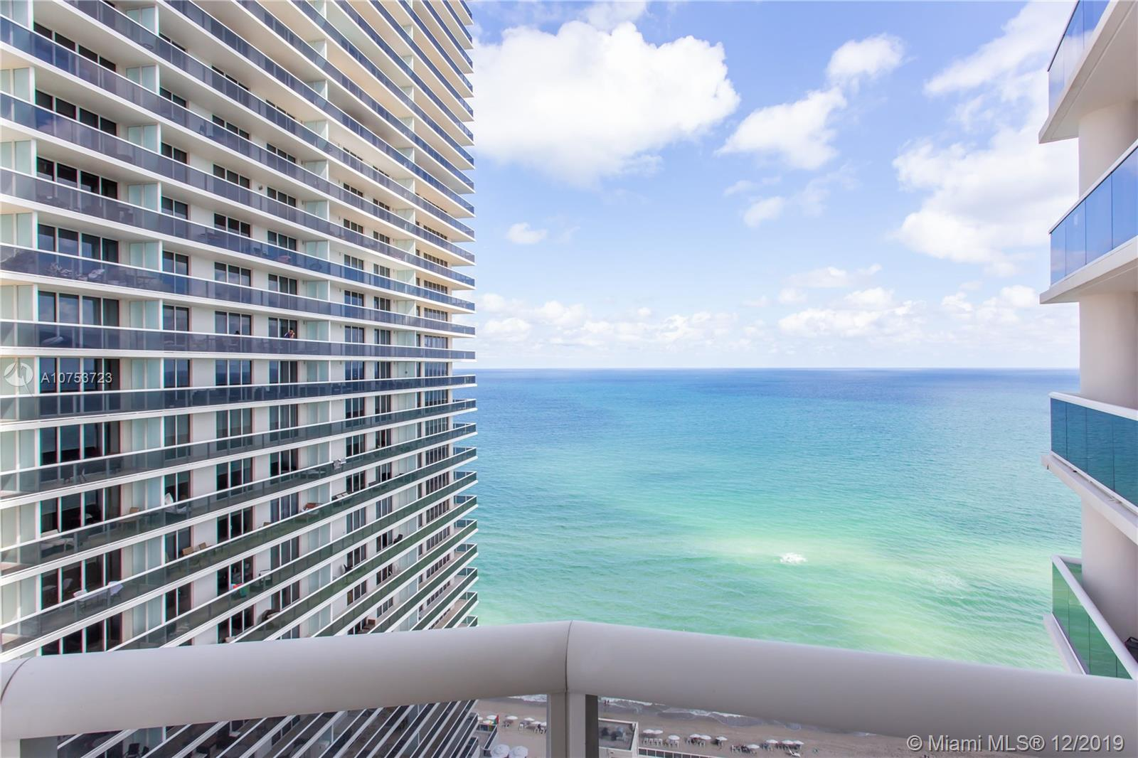 Beautiful corner unit in the best tower at the exclusive Beach Club in Hallandale. Unit features 2 extra-large bedrooms and 2 baths with a 450 SQft. wraparound balcony with spectacular Ocean and Intracoastal views. The apartment features upgraded floors, spacious walk-in closets and floor to ceiling windows that fill the unit with sunlight and ocean views. The Beach Club offers a 5-star resort lifestyle with expansive infinity pools facing the ocean, 50,000+ SQft spa and gym overlooking the ocean, restaurants and beach service. Building also offers valet parking, concierge, business center and much more. Great location close to shopping centers, Aventura Mall, Ft Lauderdale International Airport, and main highways.