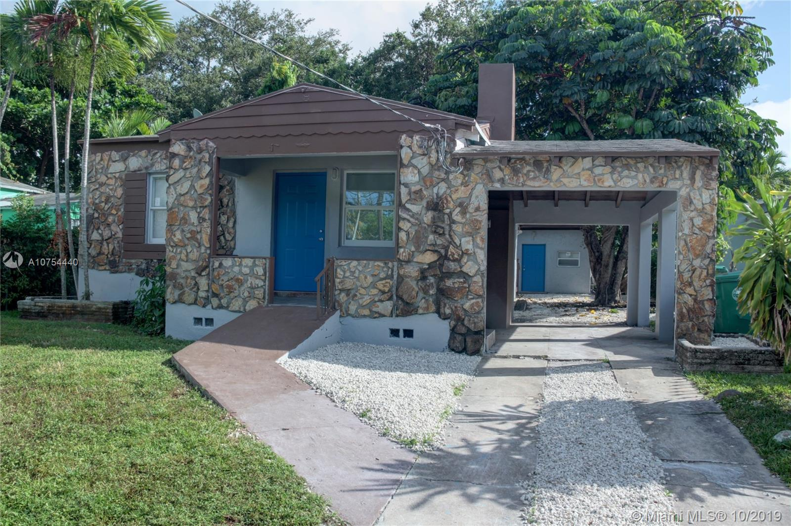 56 NW 70th St  For Sale A10754440, FL