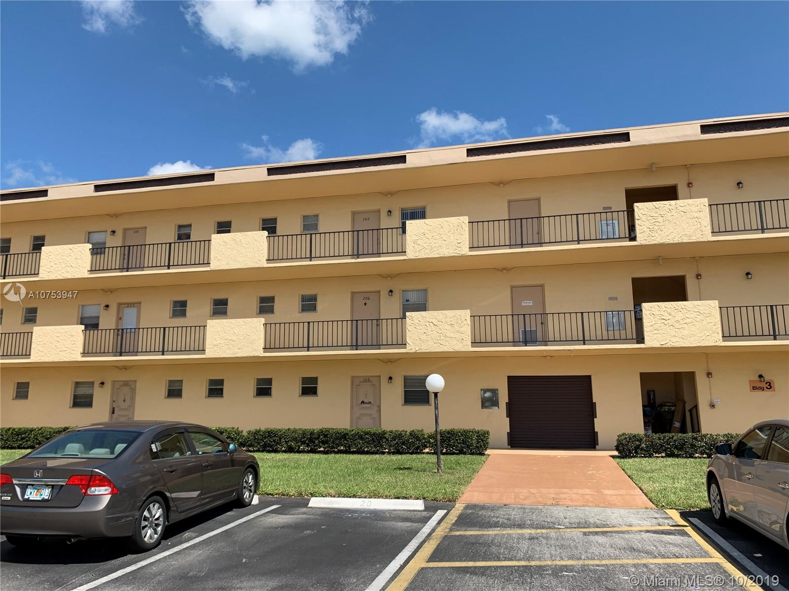 201  Berkley Rd #204 For Sale A10753947, FL