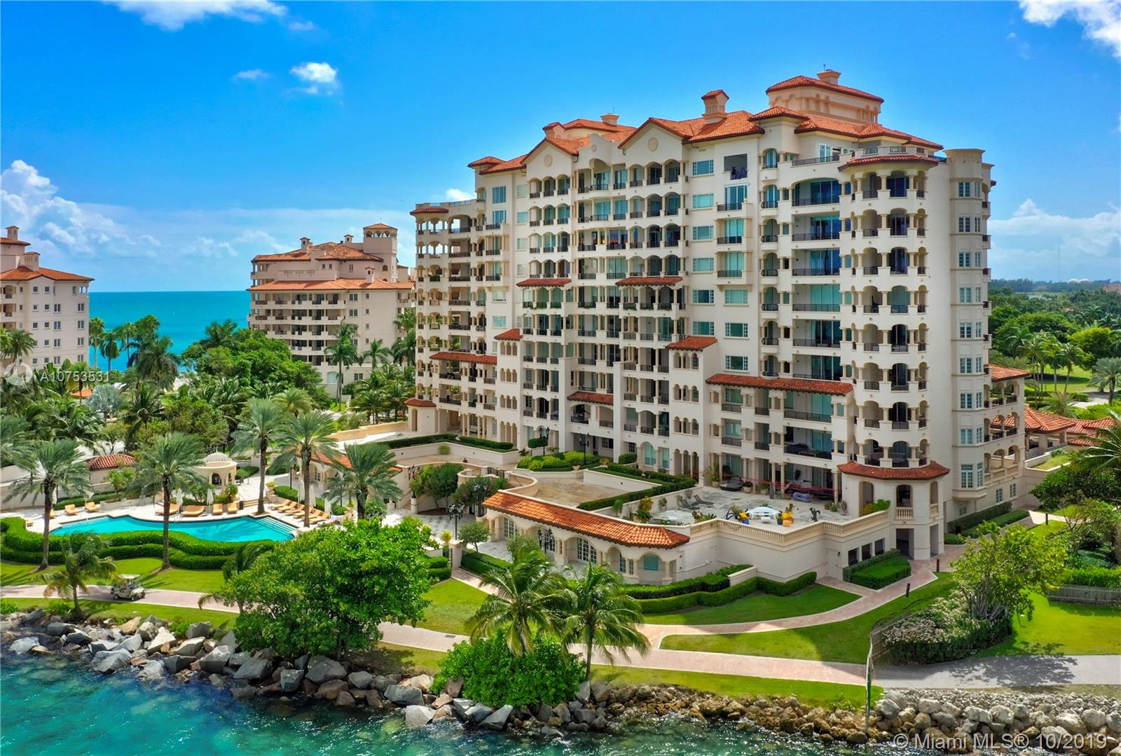 7151  Fisher Island Dr #7151 For Sale A10753531, FL