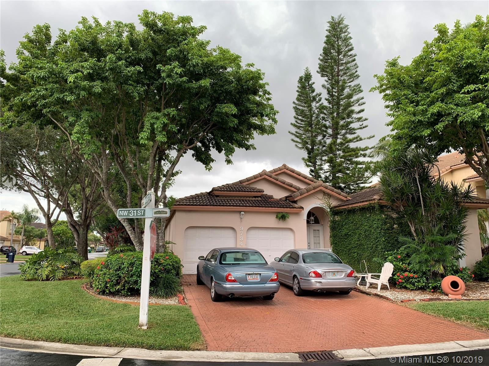 9734 NW 31st St  For Sale A10754818, FL