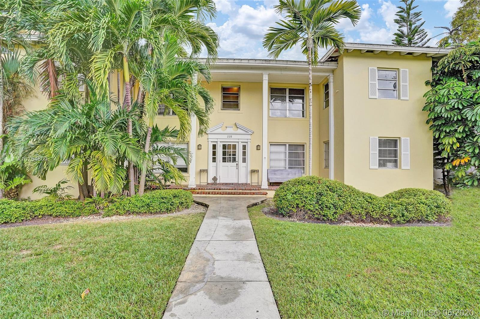 228  Madeira Ave  For Sale A10754609, FL
