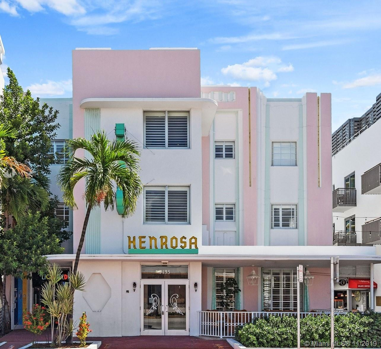 1435  Collins Ave  For Sale A10755394, FL