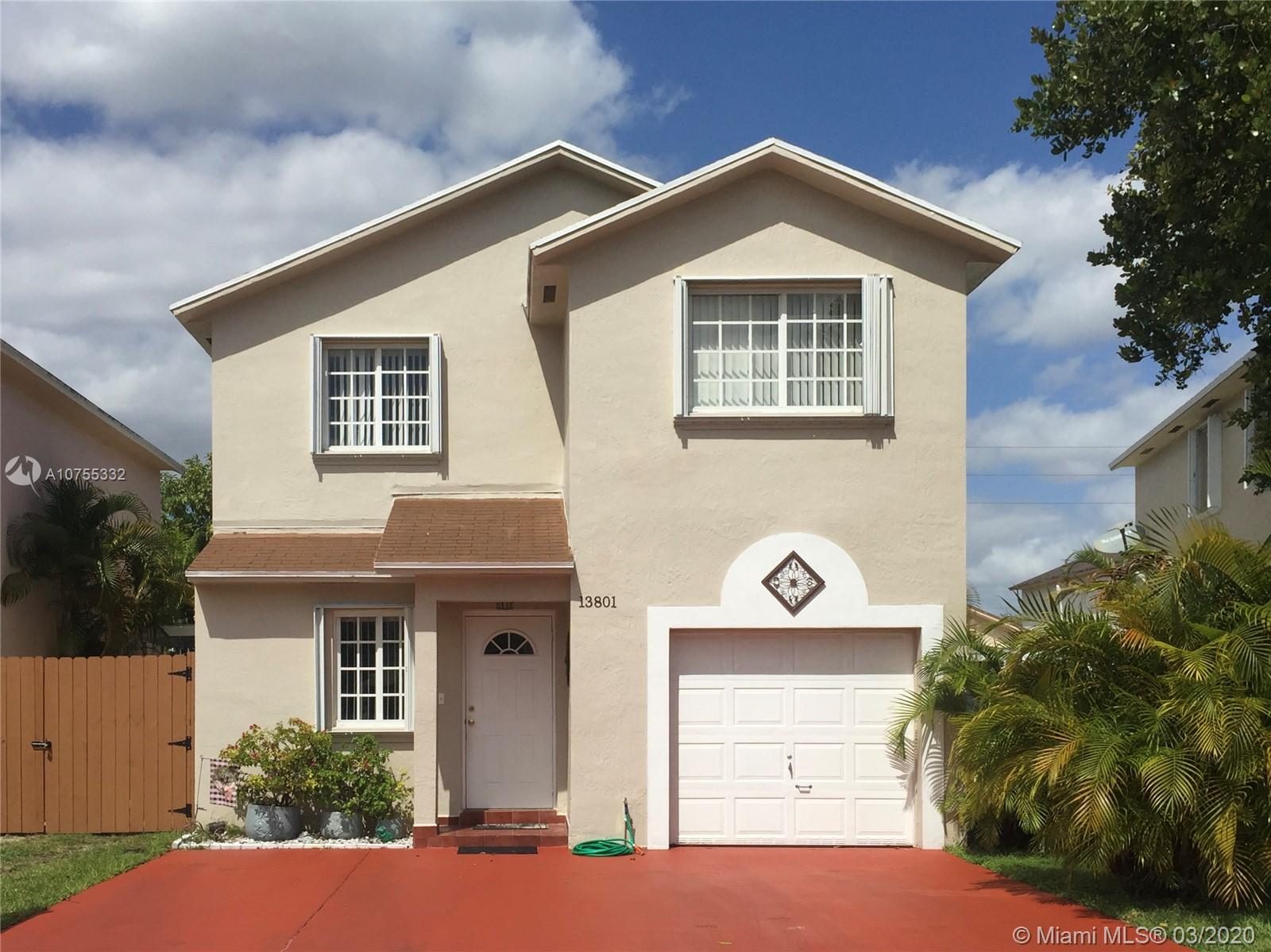 13801 SW 161st Ter  For Sale A10755332, FL