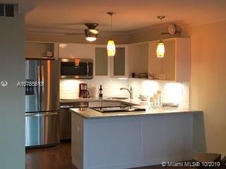Completely remodeled 1BR/1Ba on the Intracoastal. Great location, minutes to beach, shopping, dining and entertainment. Kitchen features granite counters, tile backsplash, SS apliances. Ceramice wood-look planks throughout. Bedroom has French doors,large walk-in closet, updated bath with shower. All impact windows and sliding door. AC and hot water installed 2017. Sunset views from west-facing balcony. Building offers lobby concierge, pool, gym, outdoor grills, party kitchen. Laundry on every floor. Dock space for 43' boat available separately for sale.