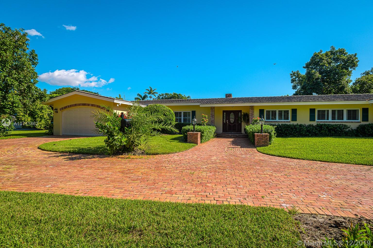 12801 SW 64th Ct  For Sale A10741862, FL