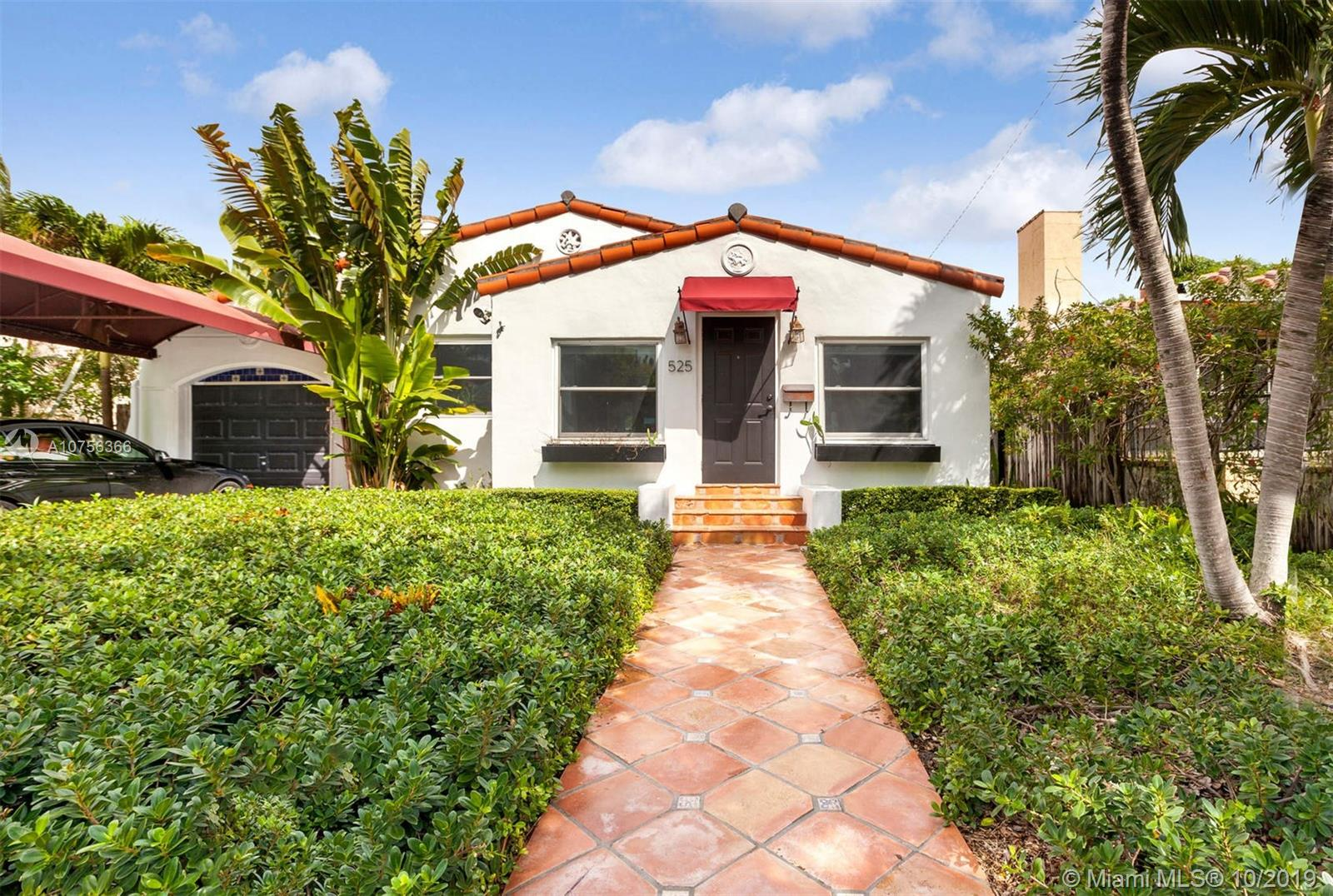 525 NE 72nd Street  For Sale A10756366, FL