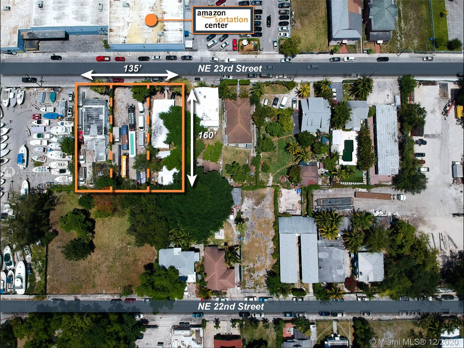 100 NE 23rd St  For Sale A10757268, FL