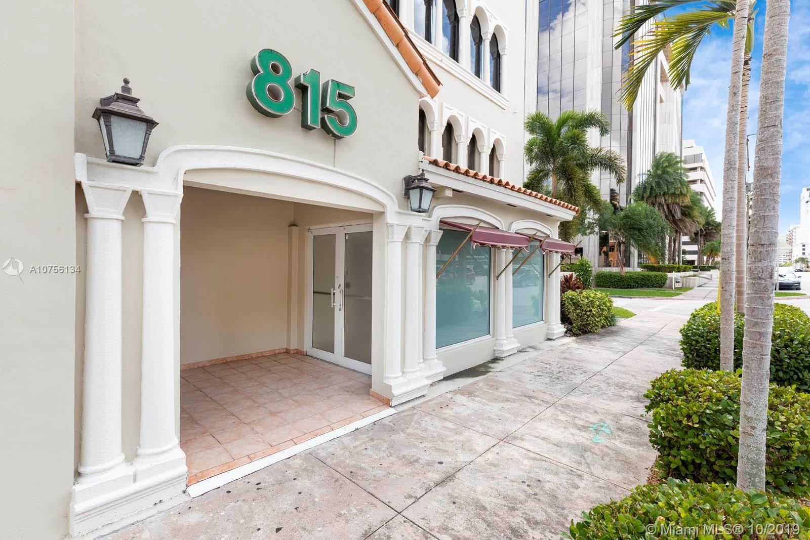 815  Ponce De Leon Blvd #retail floor For Sale A10756134, FL