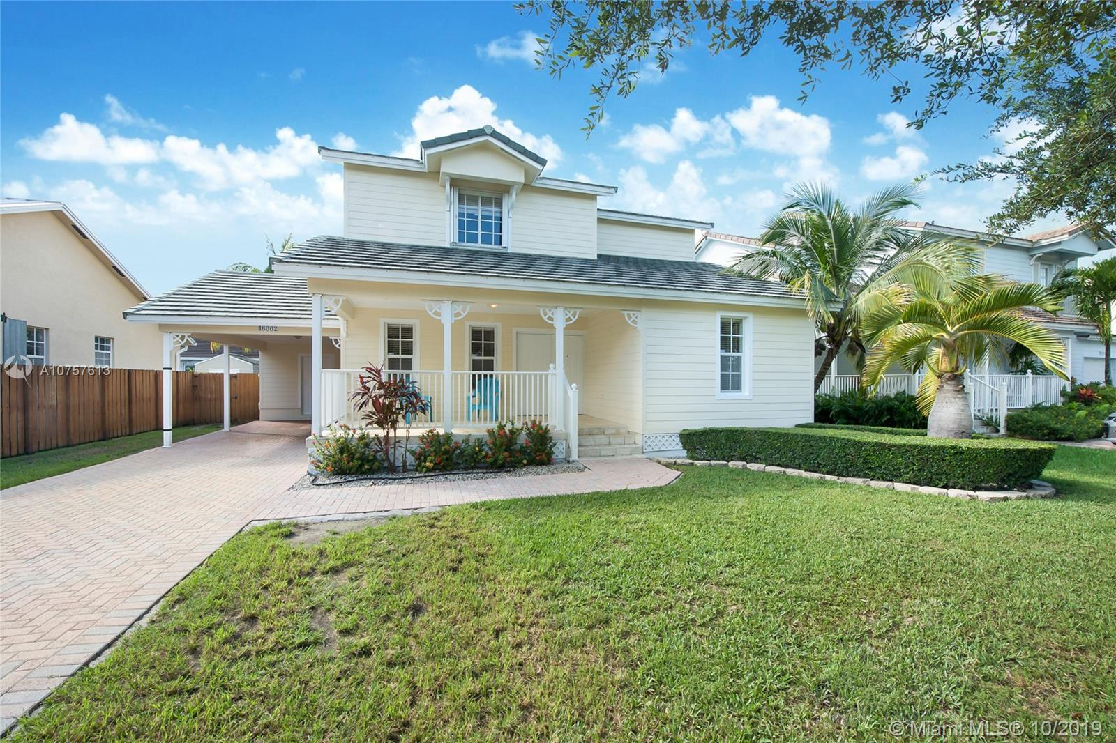 16002 SW 96th Ter  For Sale A10757613, FL