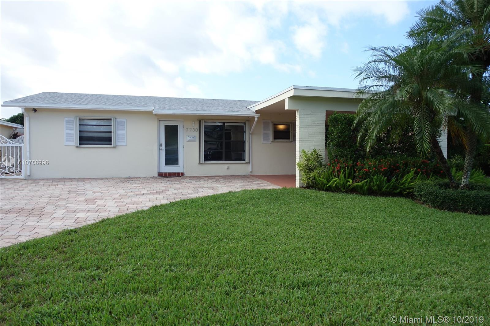 7730 NW 42nd St  For Sale A10756996, FL