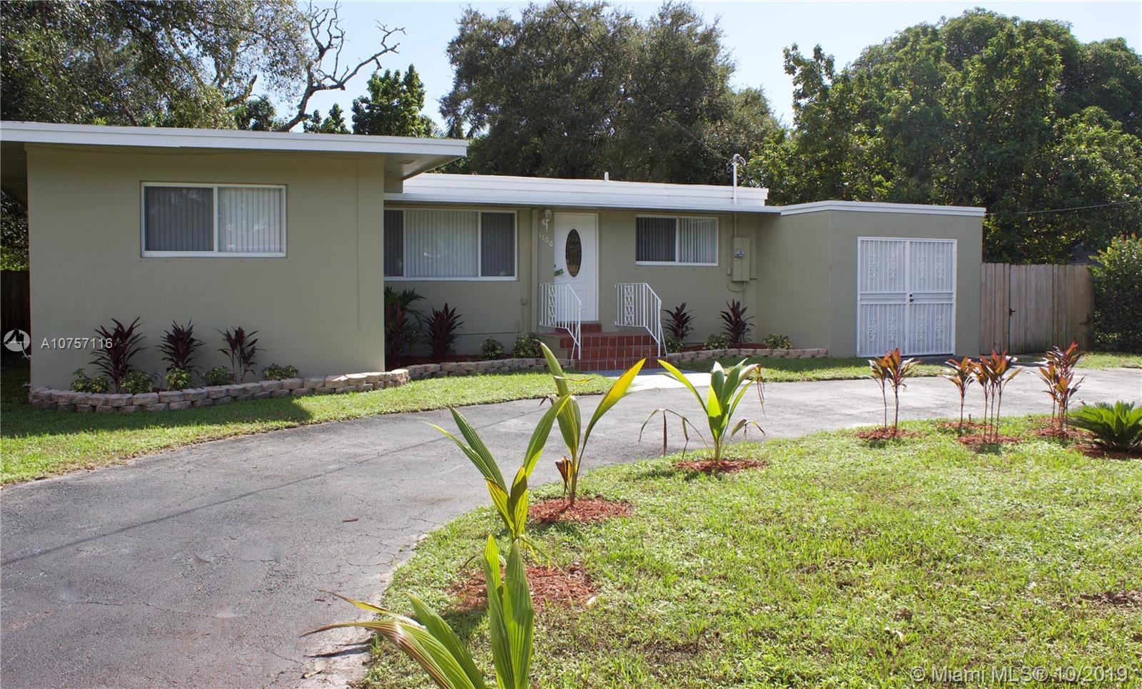 1106 NE 119th St  For Sale A10757116, FL