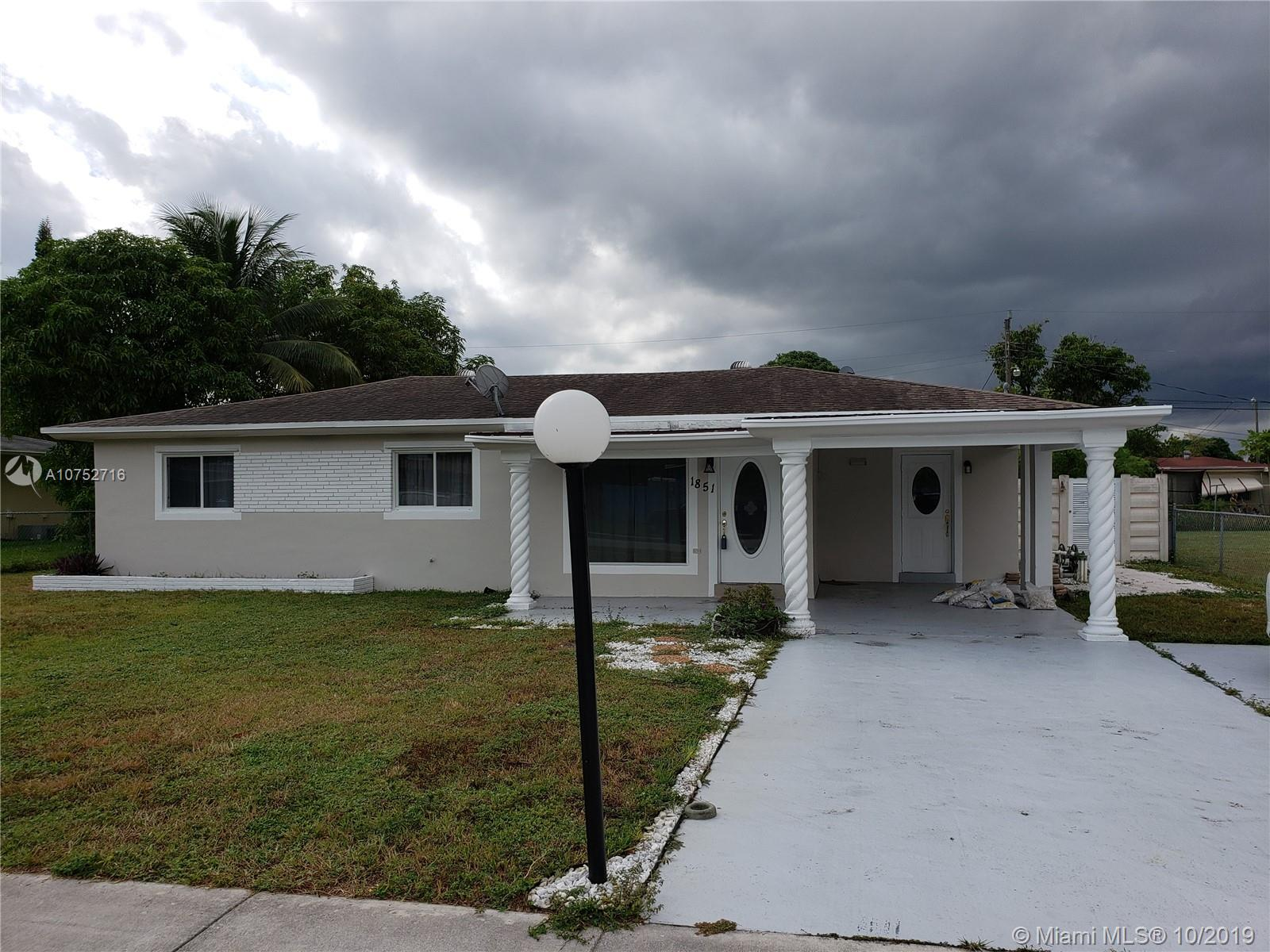 1851 SW 42nd Ave  For Sale A10752716, FL