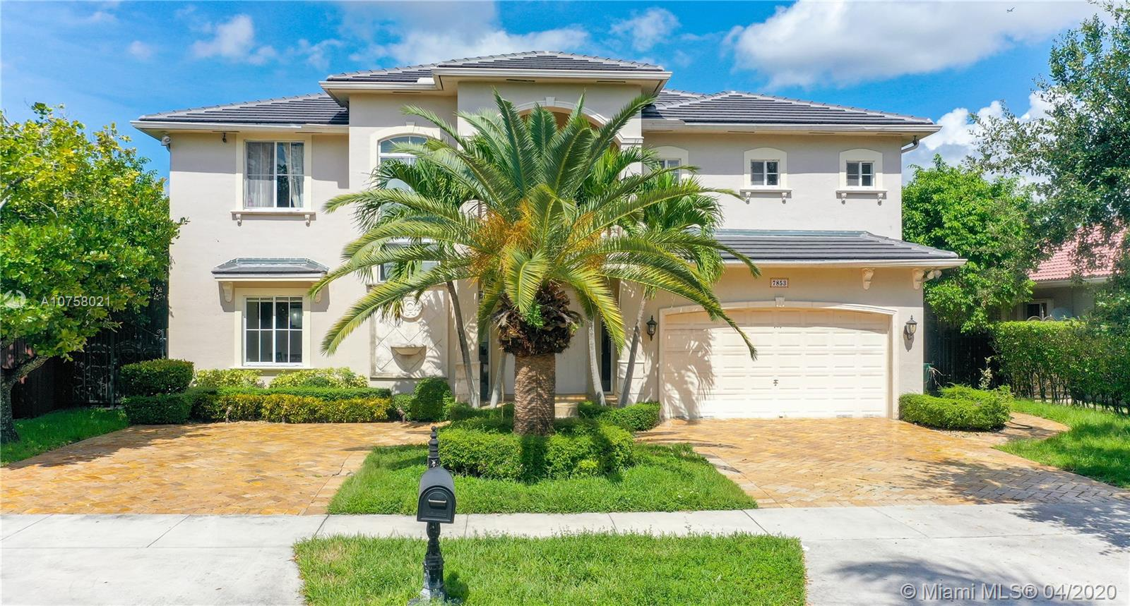 7853 NW 165th Ter  For Sale A10758021, FL