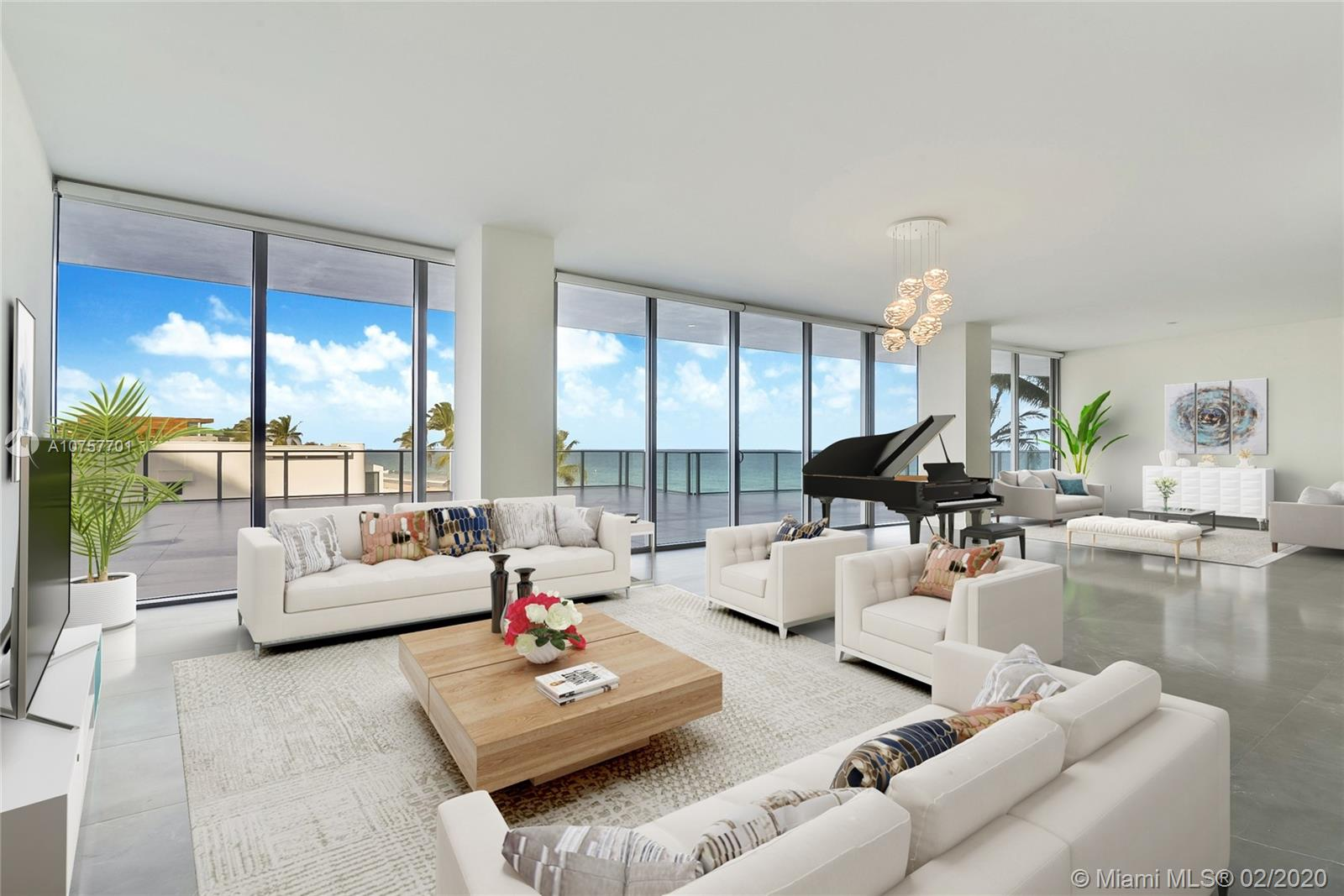 """SELLER CLOSE OUT SALE! COME EXPERIENCE THIS """"ONE OF A KIND"""" RESIDENCE WHICH OFFERS AN """"ON THE SAND"""" BEACH HOME FEEL AND IS SITUATED IN AUBERGE'S STUNNING BOUTIQUE NORTH TOWER. THIS DESIRABLE FLOORPLAN OFFERS OVER 3750 SQ FEET OF INTERIOR LIVING SPACE WITH DRAMATIC UNOBSTRUCTED OCEAN VIEWS FROM EVERY ROOM INCLUDING THE MASTER BATHROOM. RESIDENCE 205 OFFERS THE ULTIMATE PRIVACY FOR A BEACH HOME WHICH OPENS INTO A PRIVATE FOYER AND INCLUDES 3 BEDROOMS / 4.5 BATHS + DEN, PLUS MAID QUARTERS (WITH A SEPARATE ENTRANCE) AND OVER 3600 SQ FEET OF TERRACE SPACE! RESIDENCE COMES FINISHED  WITH 24 X 48 PORCELAIN FLOORING, CHEF'S KITCHEN WITH ITALIAN CABINETRY FEATURING WOLF & SUB-ZERO APPLIANCES / GAS STOVE, CONTROL 4 UPGRADE INCLUDING MOTORIZED SHADES & MORE!"""