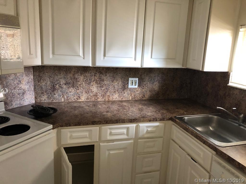 Great one bedroom condo won't last. It is in good condition ready to move in. Washer and dryer inside the unit. Very spacious bedroom with walk in closet. A must see! Easy to show. Community offers tennis courts, fitness room, club house and it is a gated community with security guard.