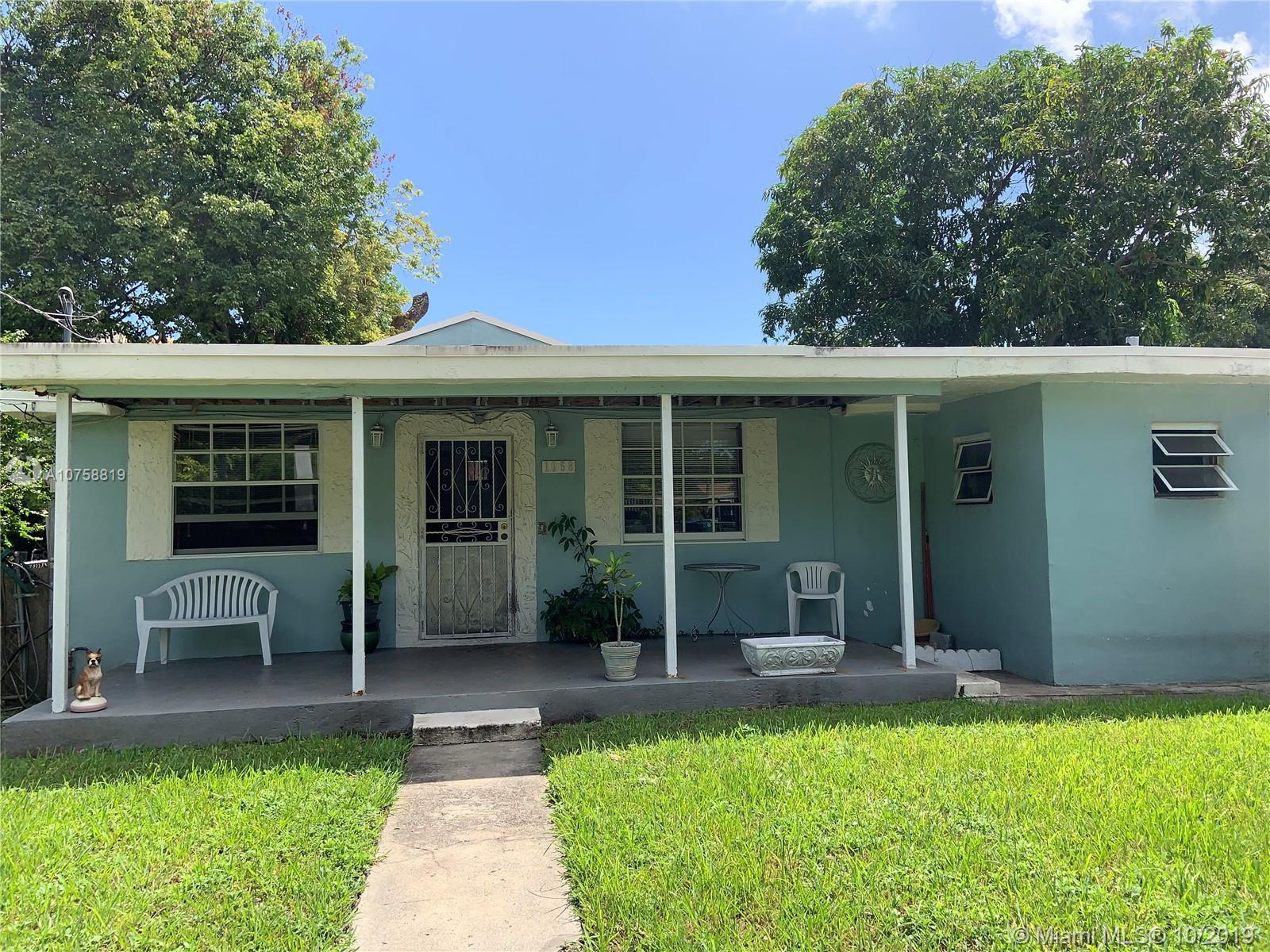 1058 NW 55th Ter  For Sale A10758819, FL