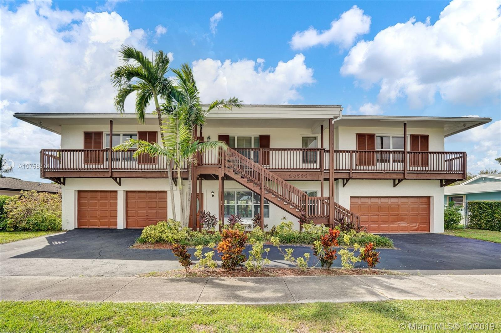 20520 SW 82nd Ave  For Sale A10758374, FL