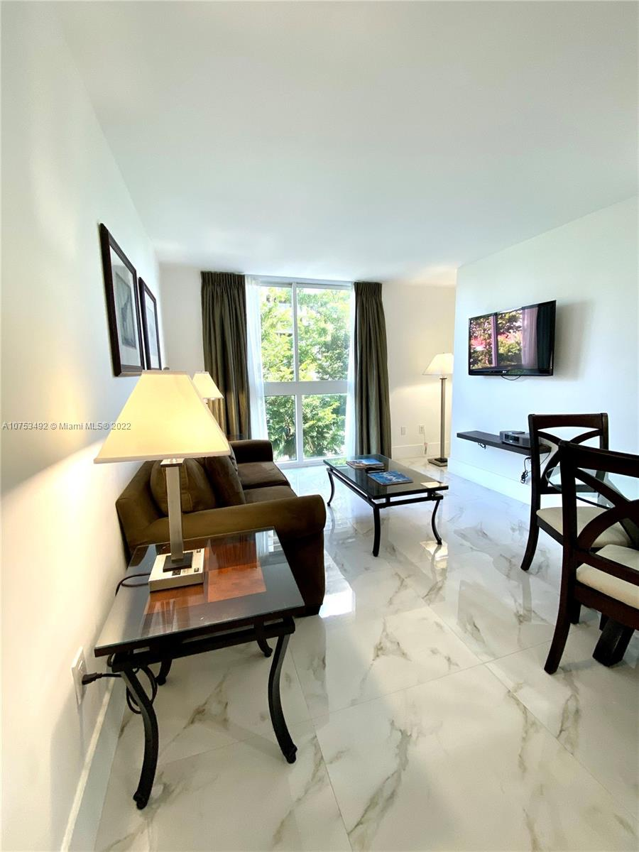 First class condo hotel with no min. Rental restrictions nor application process. Excellent for Airbnb or Ideal as a winter retreat. Walking distance to Marinas, cocowalk shopping, movies and restaurants. Maintenance includes cable, water and insurance. Building offers: Gym, rent it while you are away. Grove living at its best. Hotel will pay the buyer a $2,500.00 incentive, or higher depending on term, to the buyer if they enroll the unit in the hotel program. GREAT FOR AIRBNB with no condo approval!!!!!! Fantastic Investment property.