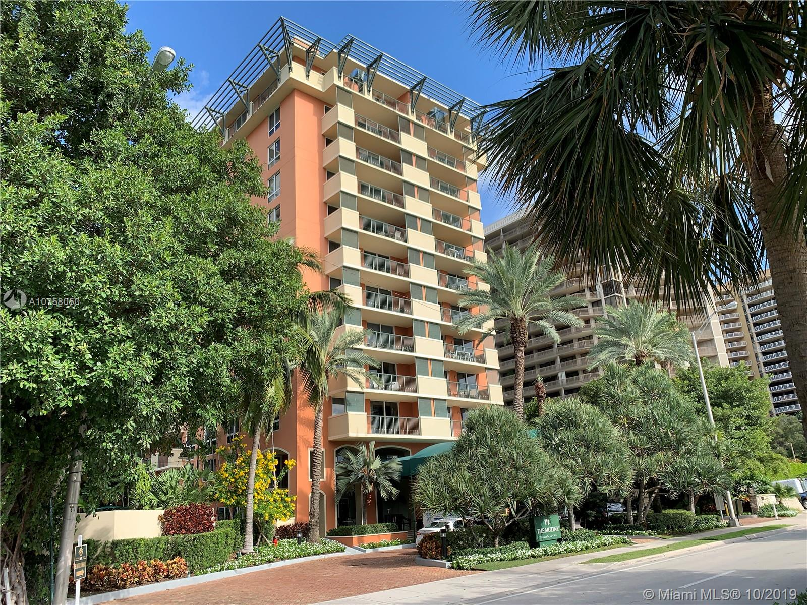 2951 S Bayshore Dr #503 For Sale A10758050, FL