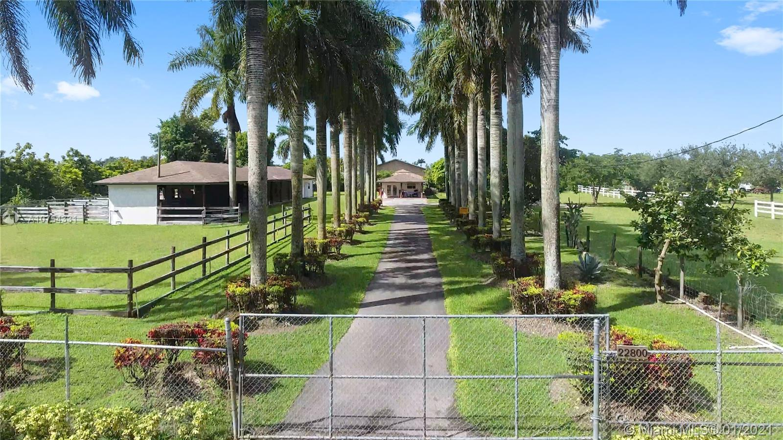 22800 SW 214th Ave  For Sale A10754331, FL