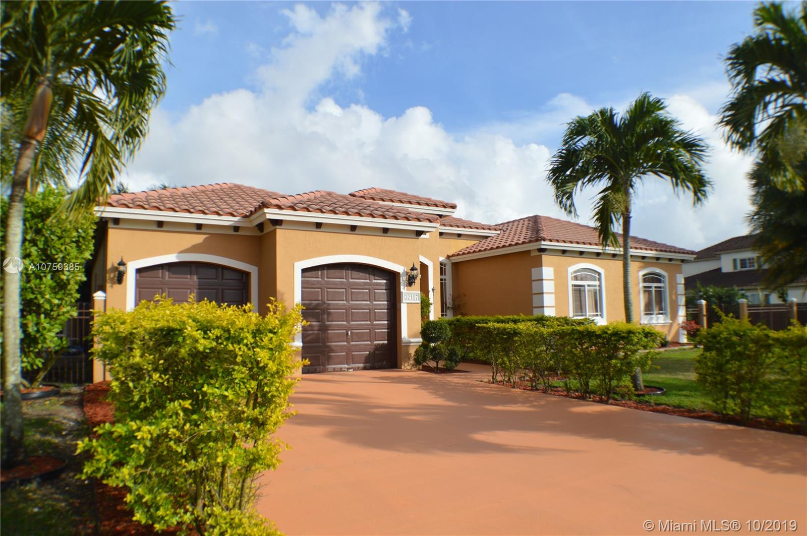 32107 SW 207th Ave  For Sale A10759385, FL
