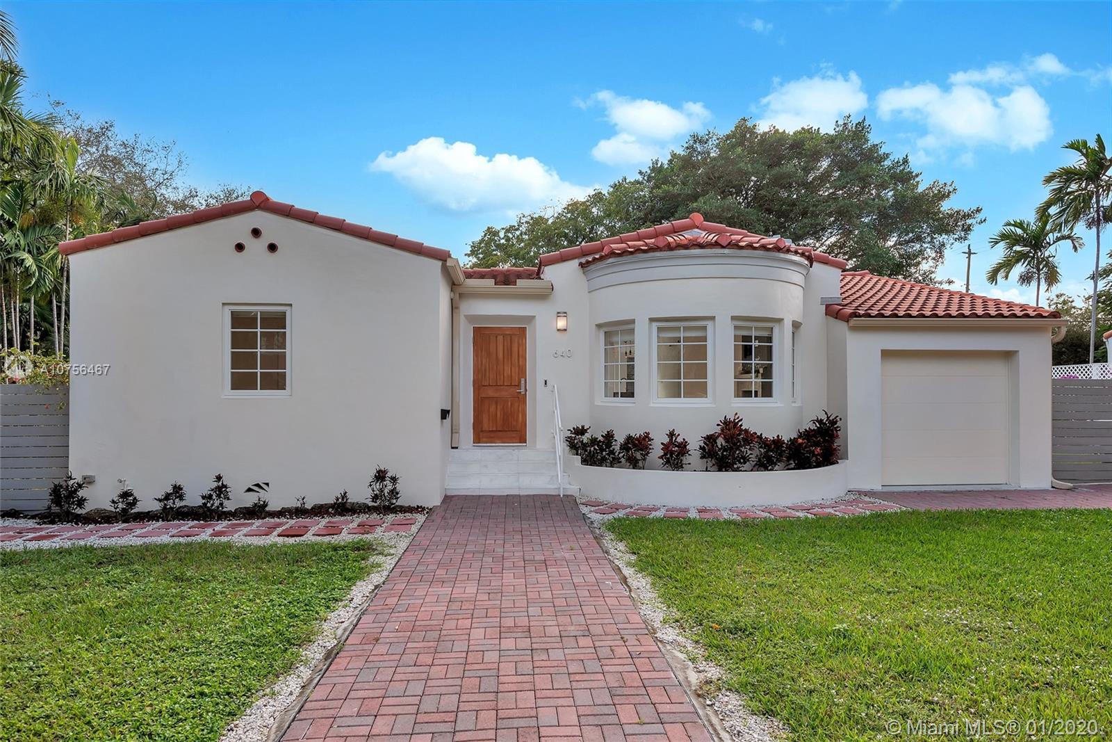 640 NE 69th St  For Sale A10756467, FL