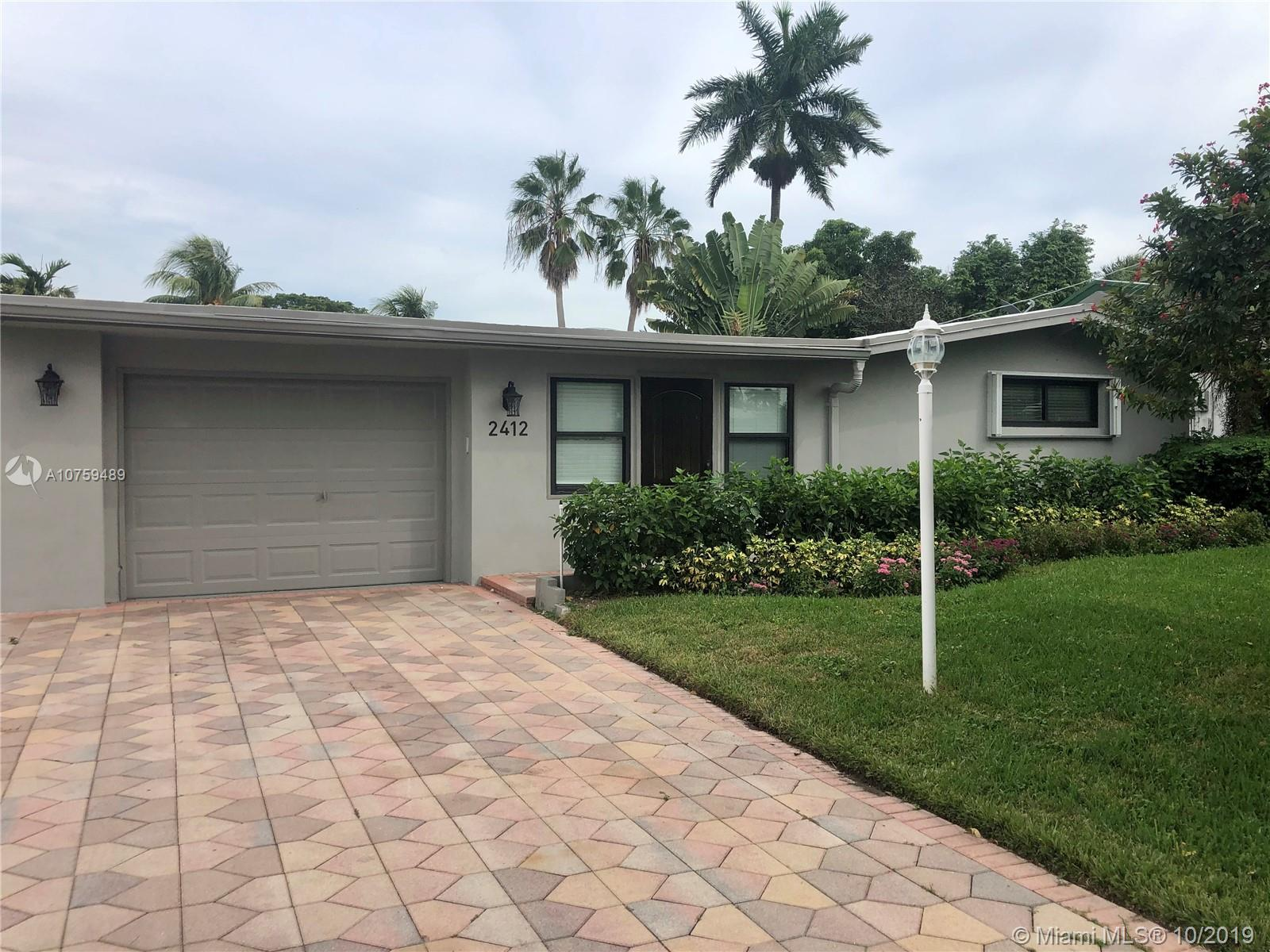 Beautiful dockside home with a pool and garage. Spacious open layout with exposed beam ceilings. Abundance of natural lighting and new flooring. Home has direct ocean access with 65' on the water. Huge walk in closet in master. Live the luxurious florida lifestyle at an affordable price.
