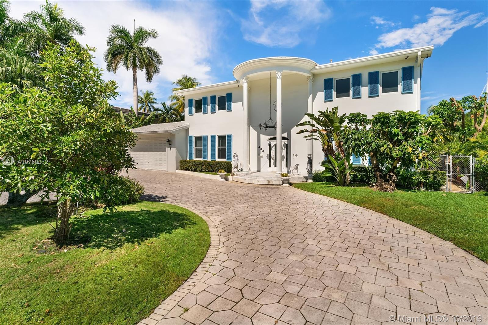 ESTATE SALE! INCREDIBLE OPPORTUNITY TO LIVE ON THE WATER. BOATER'S DREAM! HUGE HOUSE WITH AN AN APROX 15000 SQ FT LOT. OVER 6000 SQ FT IN THE LIVING AREA! OVER 6OO SQ FT OF GARAGE. A TRUE OASIS, JUST MINUTES AWAY FROM THE BEACH. 3 BEDS/2 BATHS RESIDENCE WITH BRIGHT FLORIDA ROOM, ENTERTAINMENT ROOM, FORMAL DINNING ROOM, HUGE LIVING ROOM, POOL, 2 CAR GARAGE. SPECIAL PAVER DRIVEWAY. JUST NEEDS THE RIGHT INVESTOR TO BALANCE THE AESTHETIC CONSIDERATIONS WITH STRUCTURAL PLANNING, BASED ON THE PERSON'S LIFESTYLE AND TASTE. 100 FT OF DEEP CANAL FRONTAGE, PRIVATE DOCK, NO FIXED BRIDGES, SHORT RIDE TO THE HAULOVER INLET.  ALL OFFERS WILL BE CONSIDERED. MUST SEE IT TO APPRECIATE IT!
