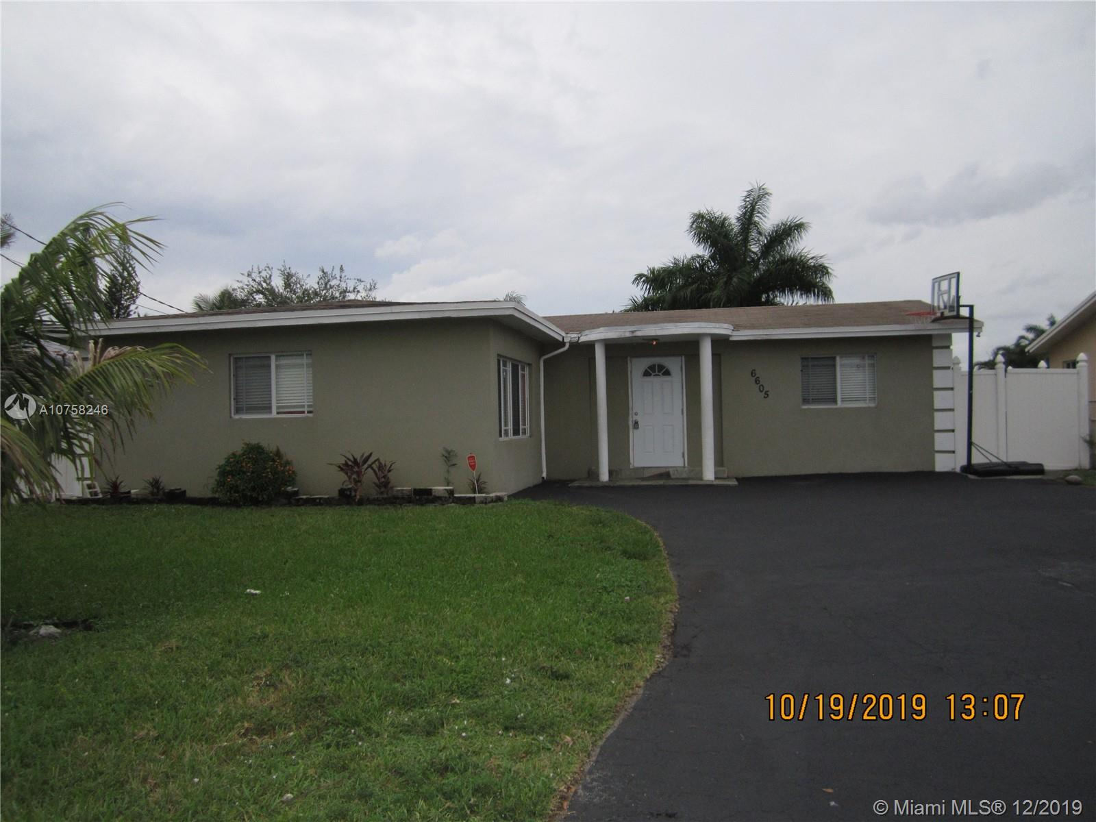 6605  Ficus Dr  For Sale A10758246, FL