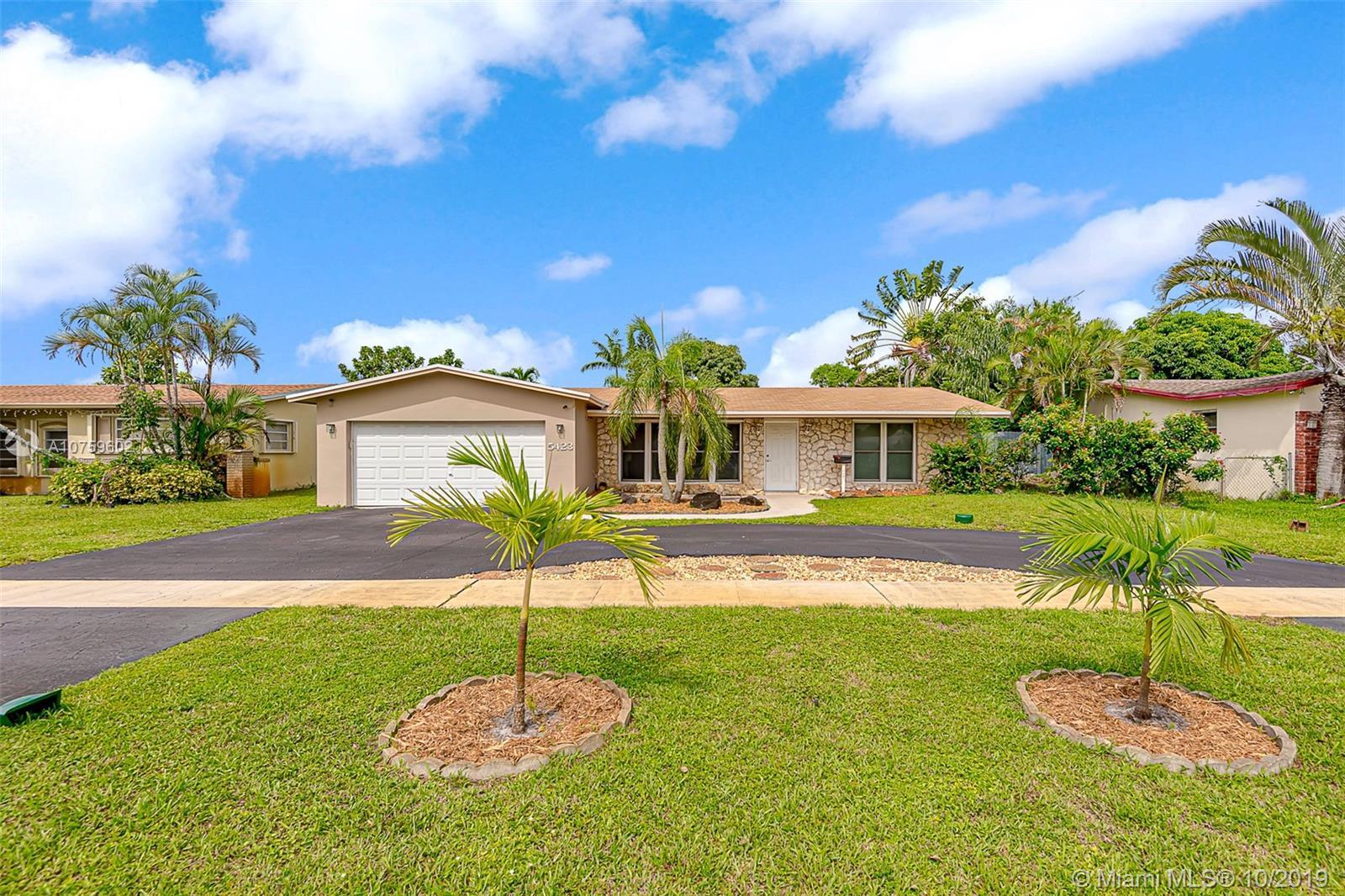 5423  Roosevelt St  For Sale A10759602, FL