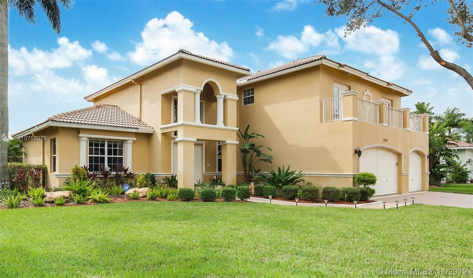 15952 SW 7 Street, Pembroke Pines, FL 33027
