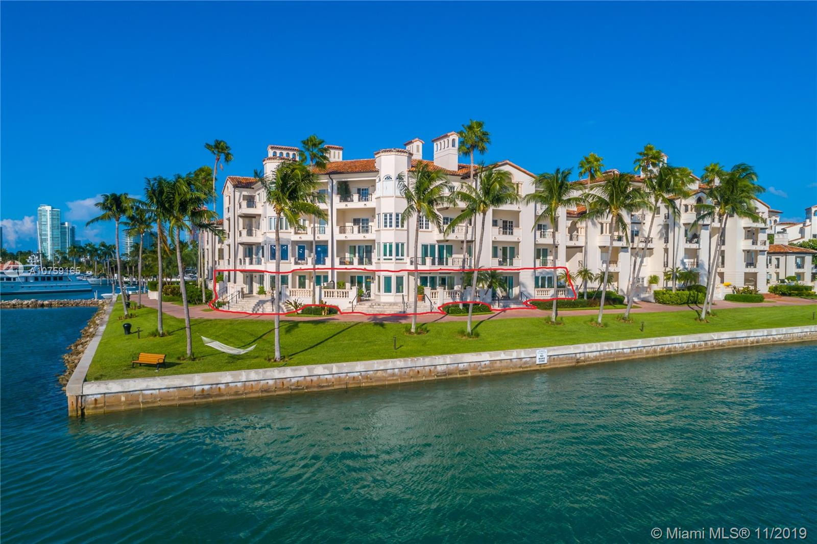 2417  Fisher Island Dr #5107 For Sale A10759165, FL