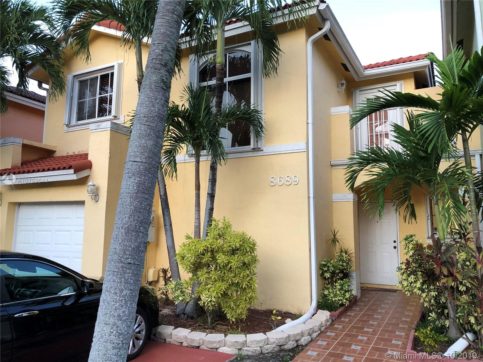 8689 SW 161st Ct  For Sale A10759644, FL