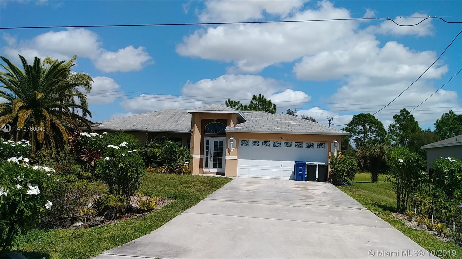 231  Rue Lobonne rd  For Sale A10760049, FL