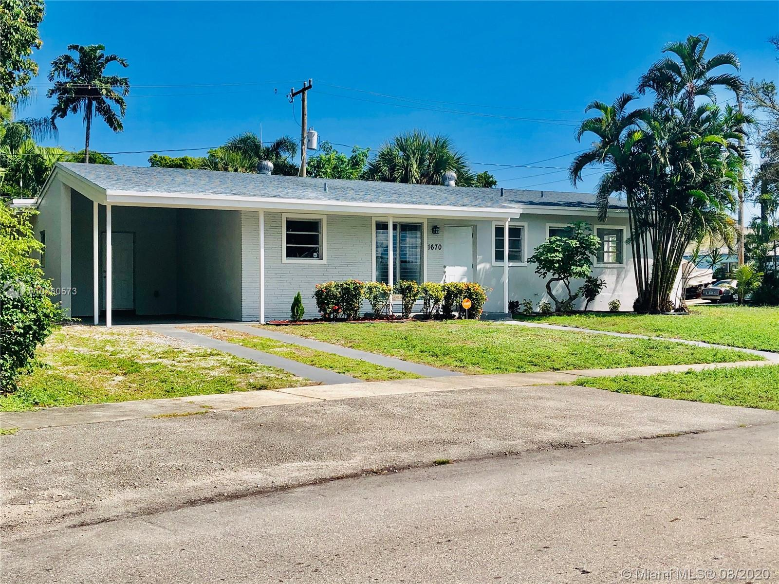 1670 SW 22nd Ave  For Sale A10760573, FL