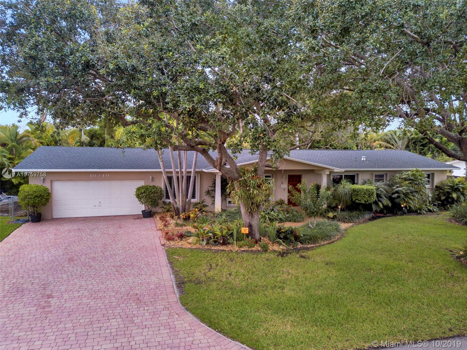 10340 SW 84th Ave  For Sale A10759758, FL