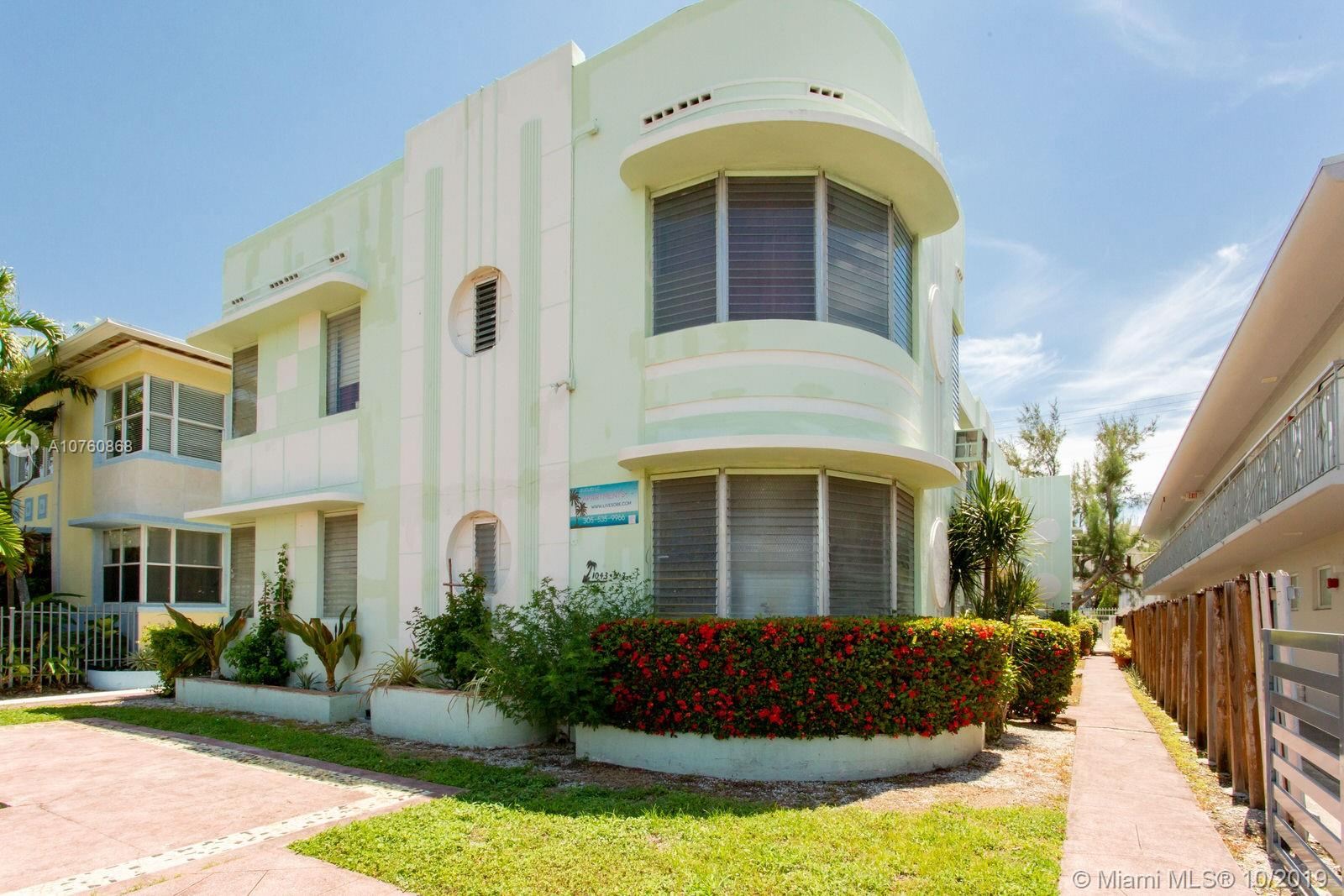 1047  Euclid Ave #10 For Sale A10760868, FL