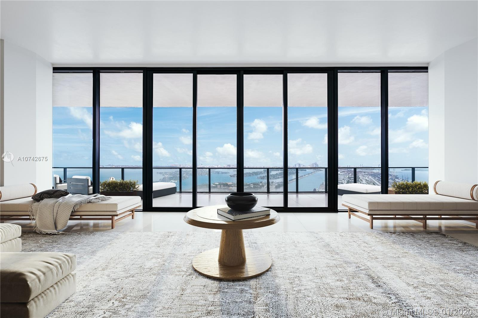 1000  Biscayne Blvd #5701 For Sale A10742675, FL